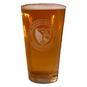 Club Pint - Etched