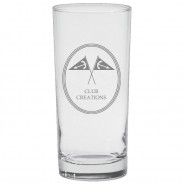 High Ball Glass - Etched