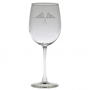 Wine Glass - Etched